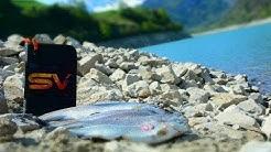 Forellenfischen Schweiz Lungernsee.  Trout fishing Switzerland.  Ловля форели в Швейцарии