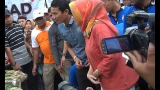 Jawab Sindiran Jokowi, Sandiaga Uno: Dalam 3 Tahun Saya Sudah Kunjungi 270 Pasar