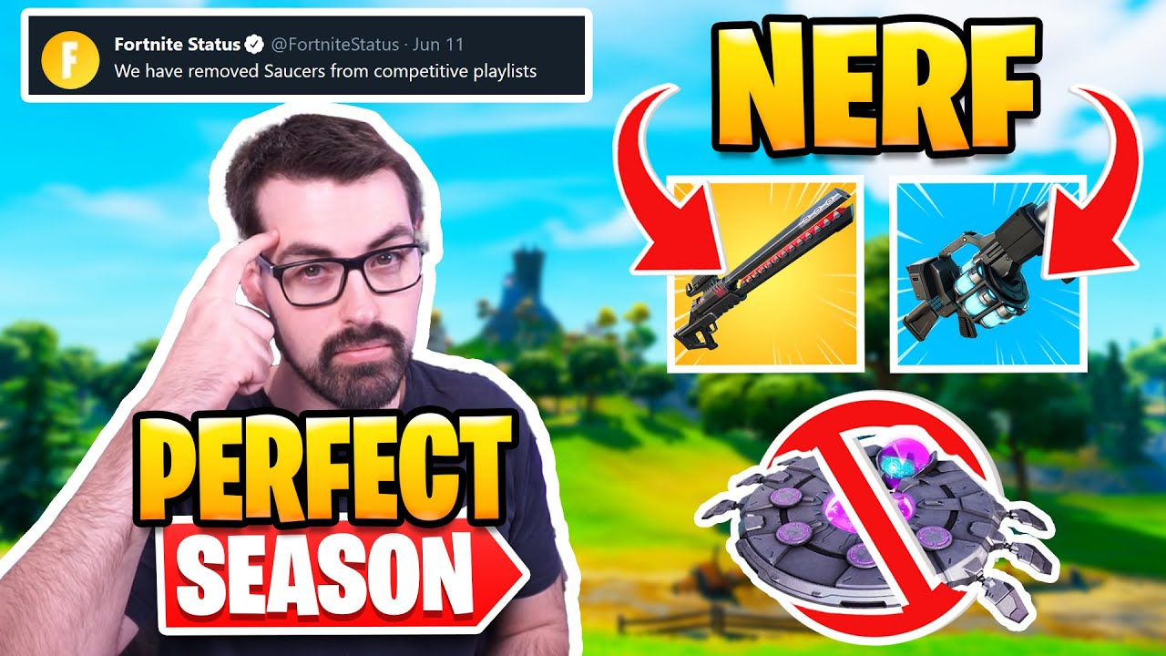 How To Make Season 7 Perfect - Nerf Rail and Recon Gun | UFO Vaulted