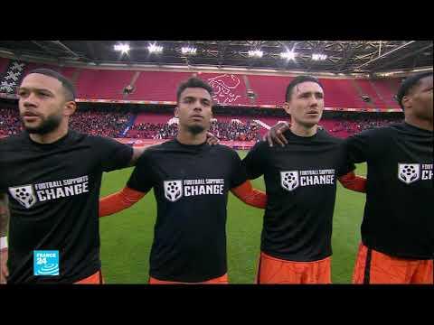 لاعبو عدد من المنتخبات الأوروبية يطالبون بمقاطعة كأس العالم في قطر بعد تقرير عن العمال المهاجرين  - 22:59-2021 / 3 / 29