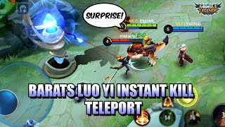 BARAT S NEW ULTIMATE WITH LUO YI COMBO MLBB