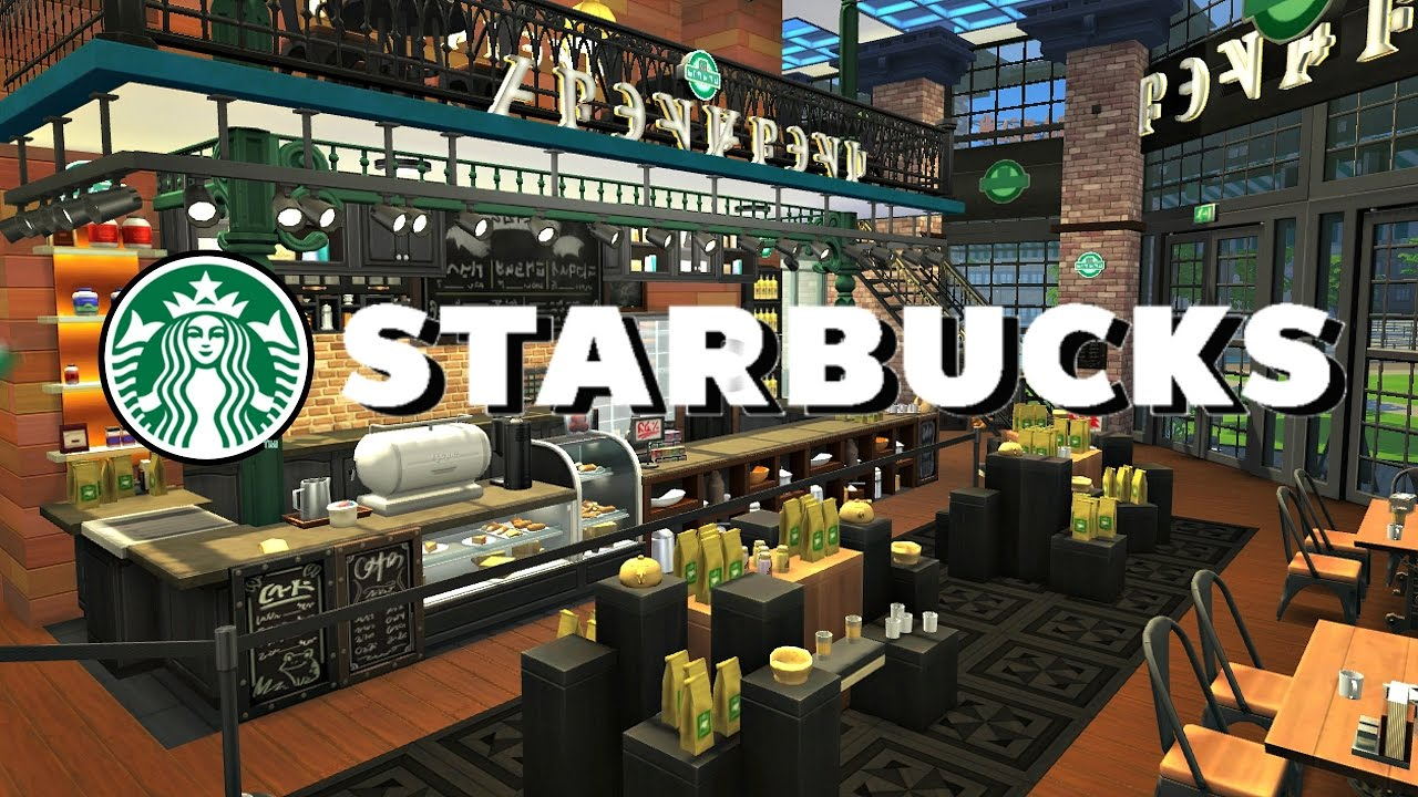 How To Build A Coffee Shop In Sims