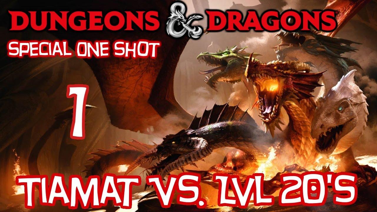 Dungeons & Dragons 5e, TIAMAT vs  (8) LVL 20 Characters! Part 1