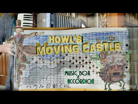 Howl's Moving Castle MUSIC BOX & Accordion (Merry Go Round Of Life)