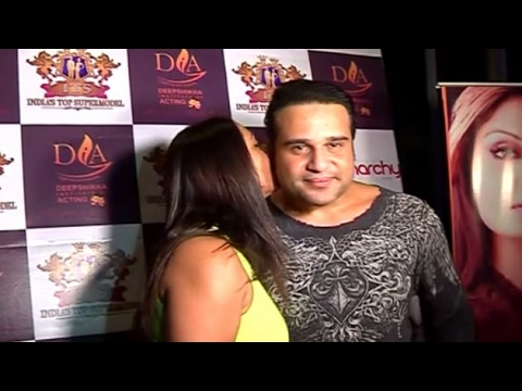 Kashmeera and Krushna's PDA on cam