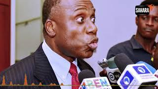 AUDIO: Amaechi Says Nigeria 'Not Going Anywhere', Buhari 'Doesn't Listen To Anybody'