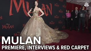 Mulan: Premiere, Interviews & Red Carpet | Extra Butter