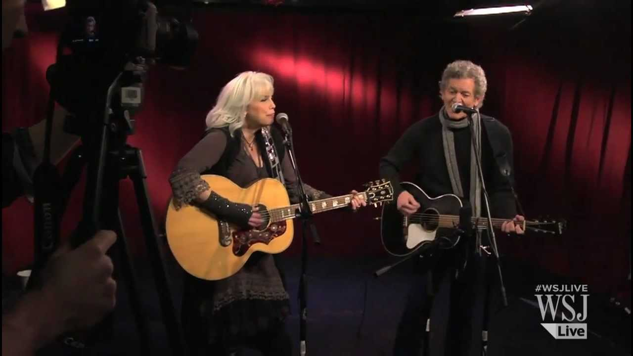 Emmylou harris rodney crowell perform chase the feeling wsj emmylou harris rodney crowell perform chase the feeling wsj cafe stopboris Image collections