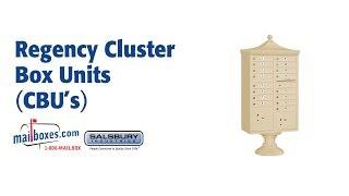 Mailboxes.com Regency Cluster Box Units (CBUs)