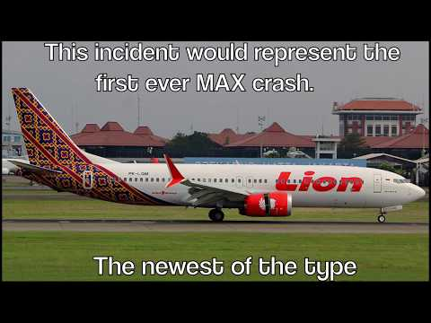 LION AIR 737 MAX CRASHES AFTER TAKEOFF WITH 189 PEOPLE!