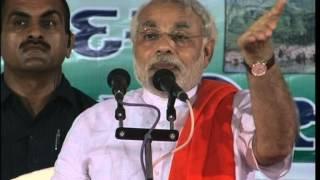 Shri Narendra Modi speaking at Vivekananda Yuva Parishad Manavadar