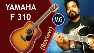 Yamaha F310 Accoustic Guitar Review [ Hindi ] Musical guruji