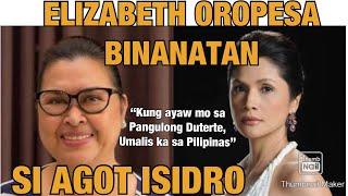 ELIZABETH OROPESA | BINANATAN SI AGOT ISIDRO YouTube Videos
