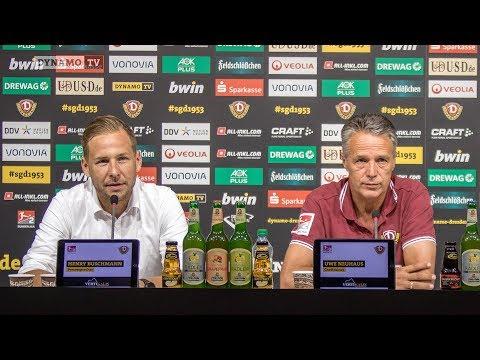 2. Spieltag | DSC - SGD | Pressekonferenz vor dem Spiel