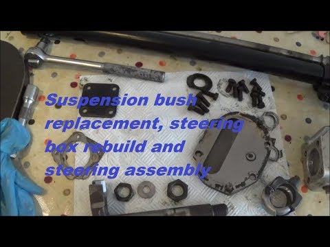 Land Rover Series 3 Restoration - Steering And Suspension