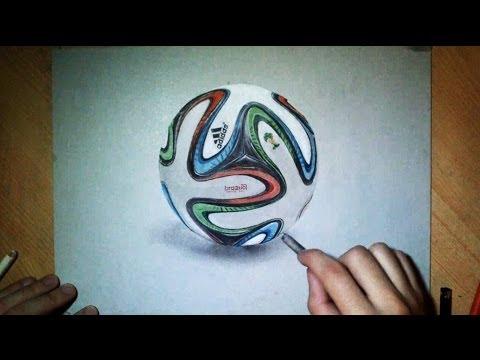 Dessin Réaliste Ballon Officiel Fifa 2014