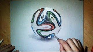 Dessin réaliste : Ballon officiel FIFA 2014