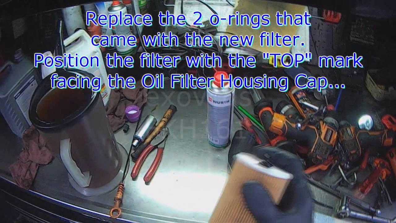 vw a4 new beetle 1 9l tdi oil change basic overview  [ 1280 x 720 Pixel ]