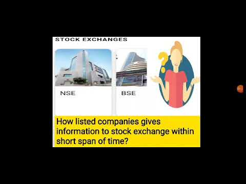 Filing process to stock exchange and intresting facts.