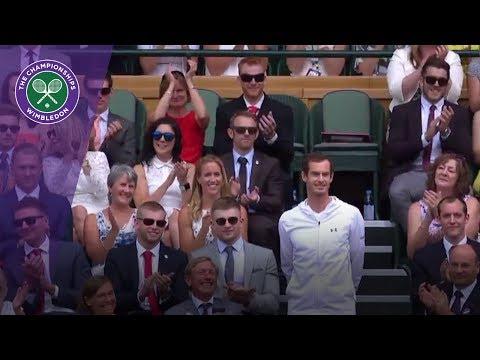 Andy Murray, Laura and Jason Kenny among Team GB stars in Wimbledon 2017 Royal Box