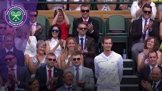 Andy Murray, Laura and Jason Kenny among Team GB stars in Wimbledon 2017 Royal Box thumbnail