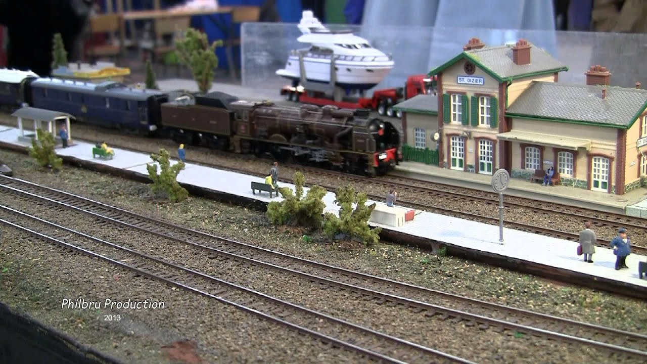 mod lisme ferroviaire le salon du train de maubeuge 1 4 On salon du modelisme ferroviaire