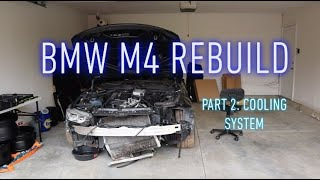 Rebuilding A Wrecked BMW M4 Part 2