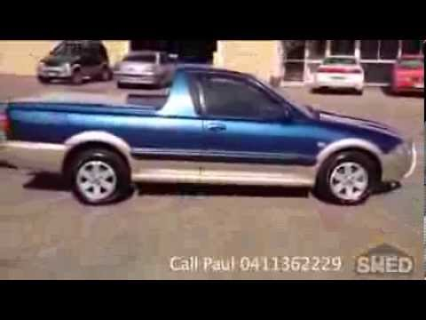 2007 Proton Jumbuck GLSi Blue For Sale Brisbane 1313