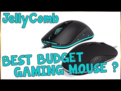 JellyComb Optical Gaming Mouse BEST BUDGET GAMING MOUSE 2017