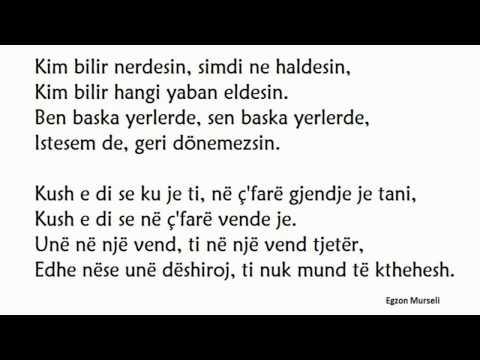 Ismayl Yk - Duydum ki çok mustsuzsun (me përkthim Shqip) ( Official Video Lyrics)