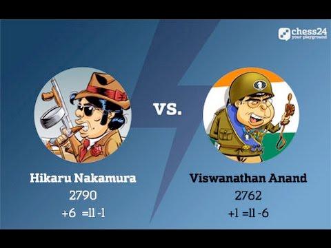 Nakamura – Anand, Candidates Chess, Round 12