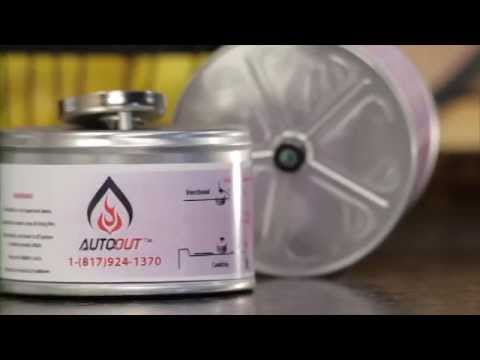 Auto-Out® Cooktop Fire Suppressor
