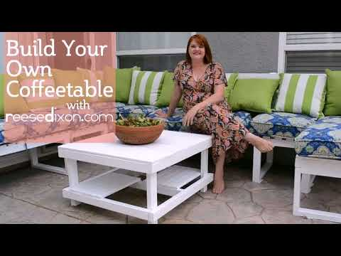 Wood Patio End Table Plans