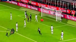 اهداف مباراة ميلان ضد يوفنتوس (1-0) كاملة الدوري الايطالي 2016/2017