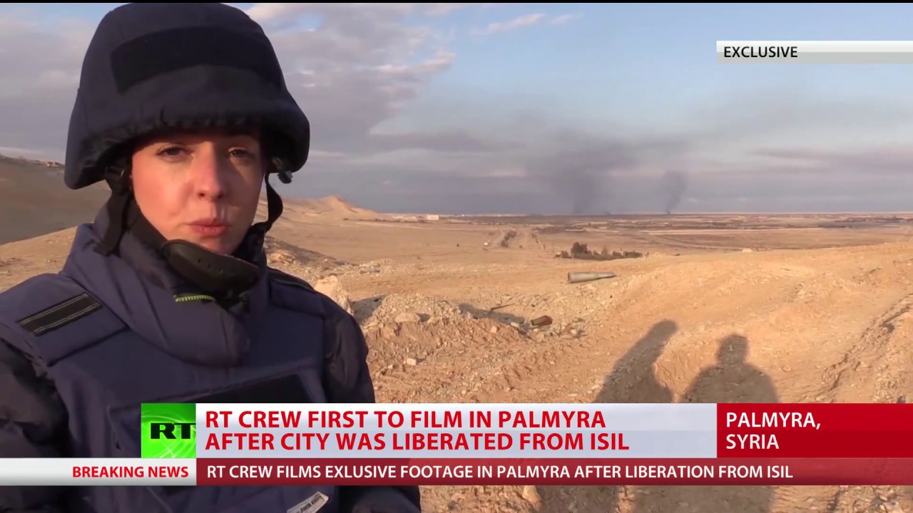 Palmyra recaptured by Syrian Army from ISIS (EXCLUSIVE)