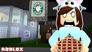 MOST EXPENSIVE STARBUCKS APPLE PIE EVER!! ROBLOX WELCOME TO BLOXBURG