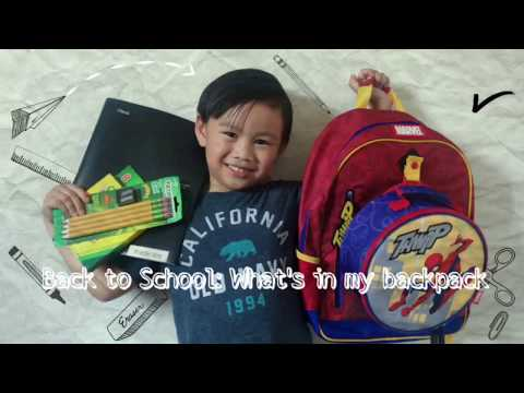 back-to-school:-what's-in-my-backpack-2018