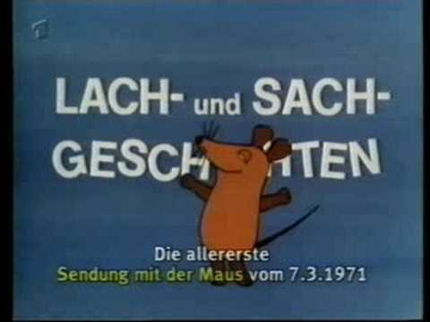 die sendung mit der maus intro 1971 youtube. Black Bedroom Furniture Sets. Home Design Ideas