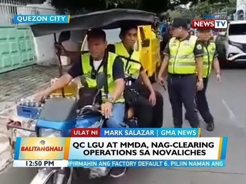 BT: QC LGU at MMDA, nag-clearing operations sa Novaliches