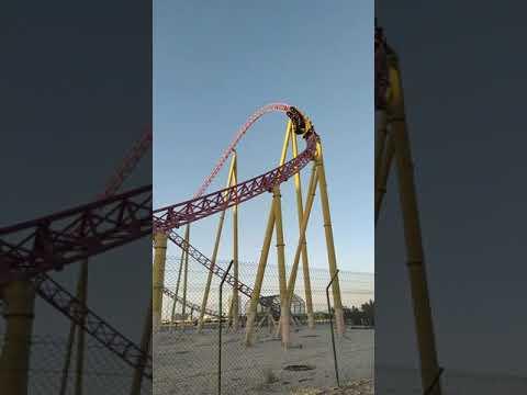 Roller Coaster Ride in IMG World of Adventure Dubai #Short