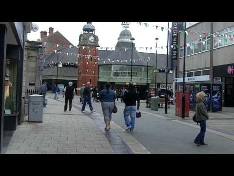 Bangor City Centre, Wales.