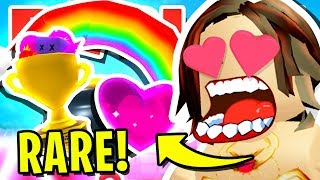 HOW I BECAME THE *BEST* PLAYER IN ROBLOX BUBBLEGUM SIMULATOR!! (Trophy, Pot o' Gold & Soul Heart)