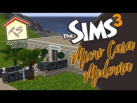 MICRO CASA MODERNA - Speed Build | Sam's Build Mode