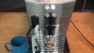 Delonghi Prima Donna S Deluxe Test 1349- Grind too fine