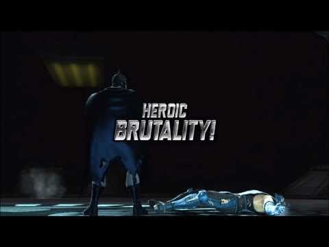 Mortal Kombat Vs DC Universe: The Heroic Brutalities And Fatalities (DC Universe Characters)