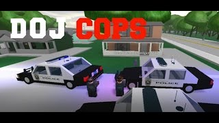 ROBLOX DOJ Cops #1 - Hostage Situation! (Law Enforcement)