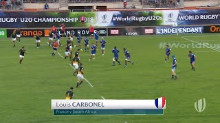 Top 5: Amazing tries - World Rugby U20 Championship