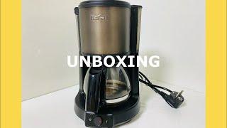 UNBOXING 테팔 커피메이커 CM222BKR 언박싱…