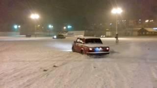 Зимний  Drift ВАЗ 2107,ЛИНИЯ, БЕЖИЦА