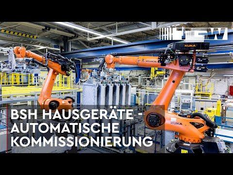 Automatische Kommissionierroboter von TGW Robotics (deutsch)